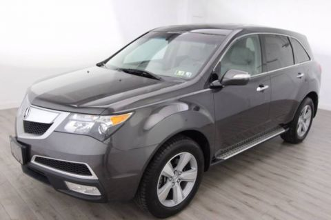 Pre-Owned 2010 Acura MDX Technology Pkg With Navigation & AWD