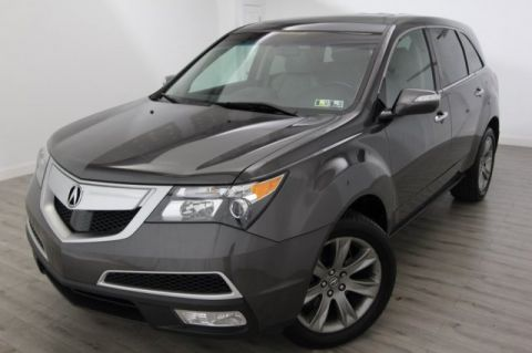 2012 Acura MDX Advance/Entertainment Pkg With Navigation & AWD