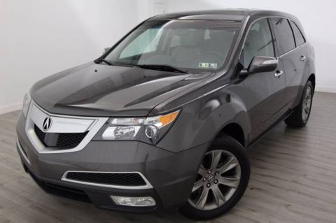 Pre-Owned 2012 Acura MDX Advance/Entertainment Pkg With Navigation & AWD