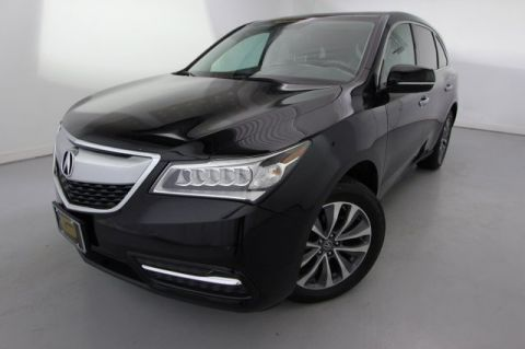 2015 Acura MDX Tech Pkg With Navigation & AWD