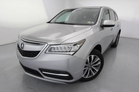 2014 Acura MDX Tech Pkg With Navigation & AWD
