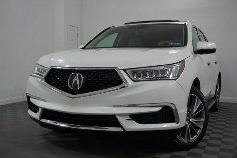 Pre-Owned 2017 Acura MDX w/Technology/Entertainment Pkg